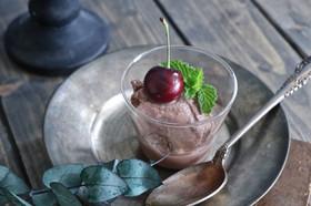 豆乳ココアアイス MCTオイル使用