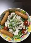 ⭐︎水菜豚の冷しゃぶ!お肉を食べよう⭐︎