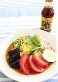 カレー冷麺