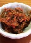 梅シロップの梅で作る梅味噌
