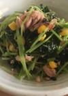 ツナと豆苗のサラダ