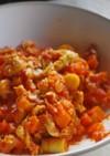 姫竹と豚こまのトマト煮