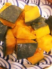 簡単✨圧力鍋でホクホクかぼちゃの煮物✨の写真