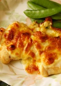 鶏むね1枚!下味冷凍☆チーズ焼き