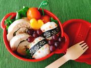 レンジで簡単!梅肉と大葉の鶏ハムレシピの写真