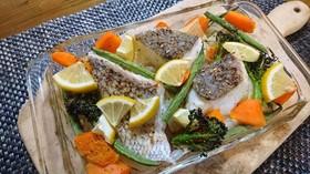 鯛のアーモンドオイル焼き