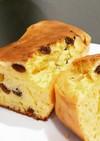 クリームチーズ&レーズンのパウンドケーキ