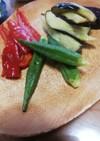 ズボラつまみ!夏野菜の揚げ浸し
