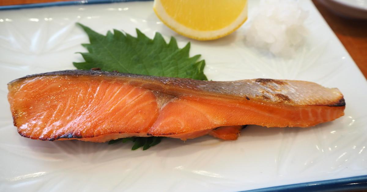『鮭の西京焼き』