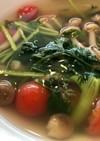 トマトのナンプラースープ