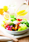 夏野菜大麦ライスサラダ