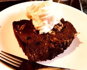 おからパウダーのチョコケーキ