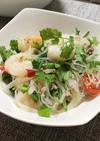 簡単美味♪「タイ風春雨サラダ」