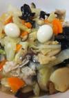 簡単中華・八宝菜と八角スープ