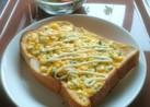 紫蘇香る玉子トースト