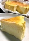 簡単♡とろーり濃厚♡半熟チーズケーキ