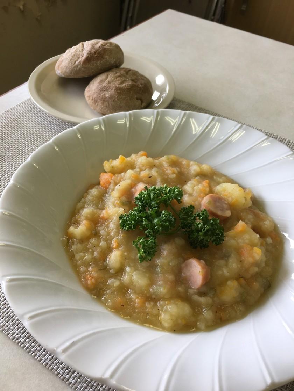 ドイツの味:ポテトスープ♥