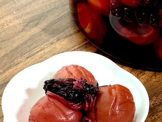 らっきょう 酢 で 梅 を 漬ける 方法