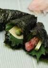 ツナマヨ風味のお手軽手巻き寿司