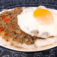 超簡単♪牛ひき肉でガパオライス☆