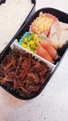 肉好き男子お弁当71