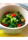 *簡単*副菜*小松菜とパプリカのナムル