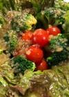サニーレタスプチトマトブロッコリーサラダ