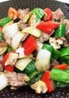 トルコ人シェフ直伝 ラム肉と野菜の炒め物