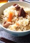 焼き鳥缶で簡単☆炊き込みご飯