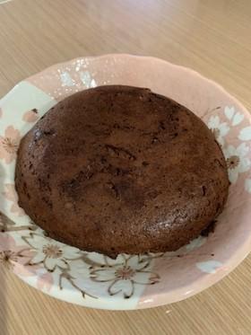 炊飯器で♪糖質控えめおからチョコケーキ
