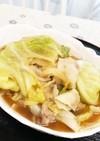 胃に優しく☆豚バラとキャベツの中華煮