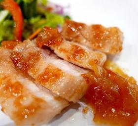 豚バラブロックの甘夏マーマレード焼き