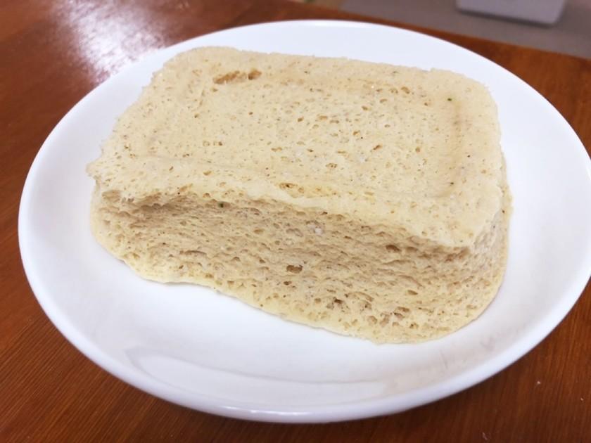 卵なしプロテインおから蒸しパン 低糖質