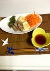 胡麻油で揚げた 天ぷら