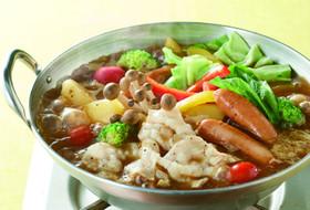 旨味だしで作る!ジンジャーカレー鍋