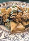 納豆とオクラの簡単サラダ