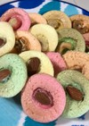 カラフルマシュマロナッツクッキー