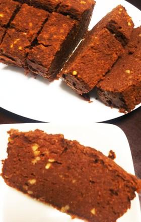 生おからとHMで簡単チョコケーキ