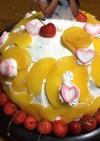 かくれんぼドレスケーキ