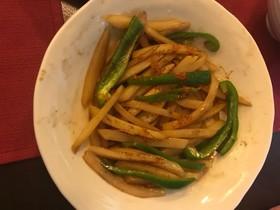 ジャガイモの中華炒め〜土豆青椒炒菜
