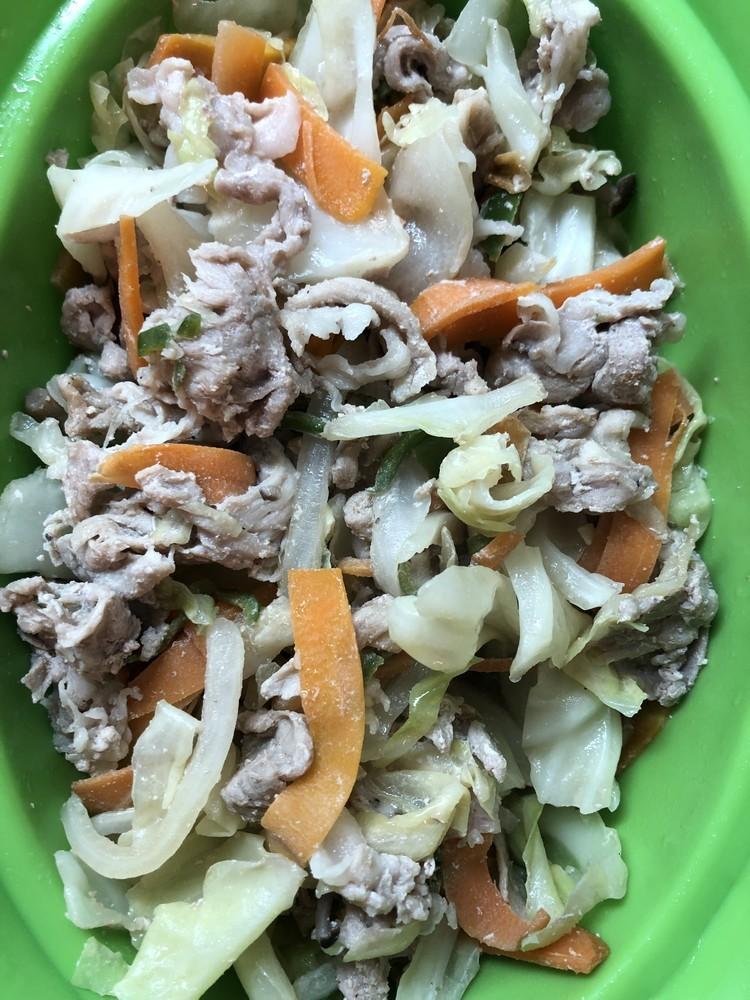 カット野菜 レンチン野菜炒め