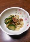 白菜とキュウリのさっぱり浅漬け(梅風味)