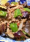 野菜とミンチの甘辛炒め