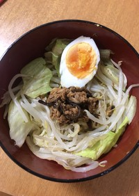 ★インスタントラーメン★で作るツナつけ麺