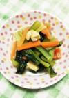 小松菜と油揚げの簡単おひたし