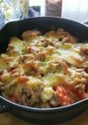 じゃが玉☆ツナトマトでチーズ焼き