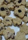 米粉で作る✨煎茶レーズンクッキー