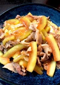 ご飯が進む★スイカの皮と豚肉の中華炒め