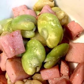 そら豆のソテー ・スペイン風