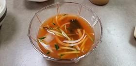 本場韓国きゅうりの冷菜スープ